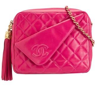 Chanel Pre Owned Tassel Detail Camera Bag