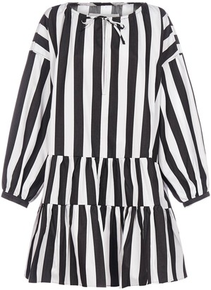 Marques Almeida Oversized Striped Dress