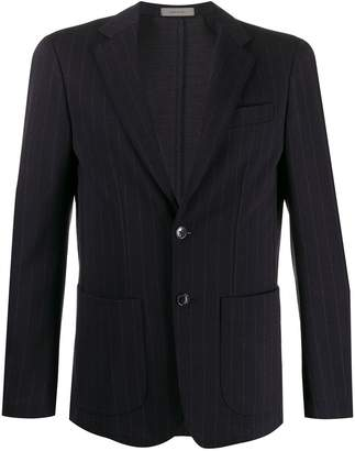 Corneliani fitted single-breasted blazer