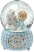 Precious Moments Jesus Loves Me - Boy Musical Water Globe