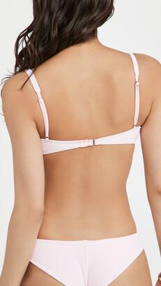 Frankie's Bikinis Anna Ribbed Bikini Top
