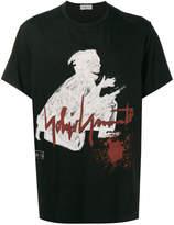 Yohji Yamamoto samurai print t-shirt