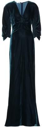 Stella McCartney Velvet maxi dress