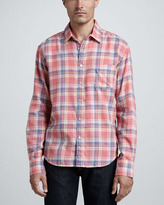 Rag and Bone Rag & Bone Yokohama Plaid Sport Shirt