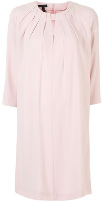 Escada Key-Hole Detail Flared Dress