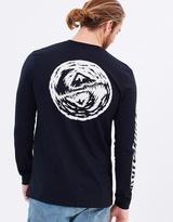 Quiksilver Mens Bad Vision Long Sleeve T Shirt
