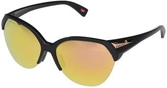 Oakley 65 mm Trailing Point (Matte Black Frame Prizm Rose Gold Polarized Lens) Fashion Sunglasses