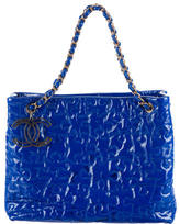 Chanel Patent Leather Puzzle Tote