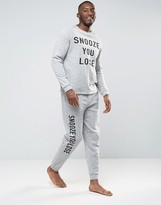 Asos Loungewear Nepp Jogger With Print