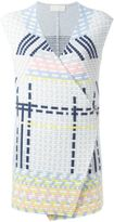 Peter Pilotto ottoman knitted gilet