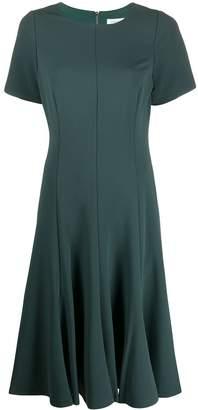 Calvin Klein scuba crepe midi dress