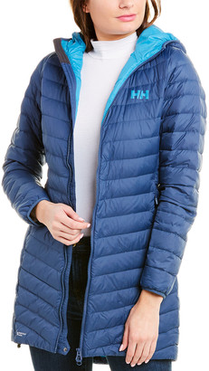 Helly Hansen Verglas Hooded Long Down Insulator Jacket