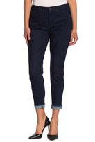 NYDJ Ami Ankle Fray Hem Cuff Skinny Jeans (Petite)