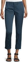 Vince Twill Boyfriend Trousers, Slate Blue