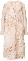 Drome midi fur coat - women - Lamb Skin/Cupro - XS