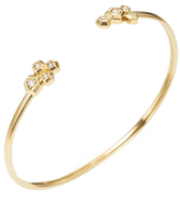 Maiyet 18K Yellow Gold & 0.16 Total Ct. Diamond Constellation Open Bracelet