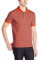 Dockers Sports Stripe Cotton Jersey Polo
