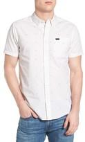 RVCA Men's Va Dobby Woven Shirt
