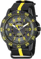 Timex Men's 'Expedition' Quartz Resin and Nylon Automatic Watch, Color:Black (Model: TW4B053009J)