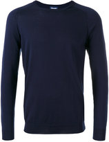 Drumohr ribbed trim sweatshirt - men - Cotton/Cashmere - 50