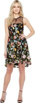 Aidan Mattox MN1E200738 Floral Embroidered A-line Dress