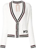No.21 v-neck cardigan