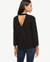 Ann Taylor Back Cutout Top