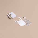 Burberry Cotton Two-piece Baby Gift Set