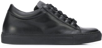 Christian Wijnants Leather Lace Up Sneakers