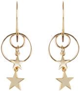 Zimmermann Double Ring Star Hook Earring
