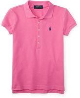Ralph Lauren 7-16 Stretch Mesh Polo Shirt