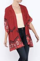 MinkPink Rosewater Kimono