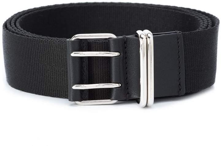 Givenchy logo print webbing belt