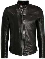Tigha NOLAN Leather jacket black