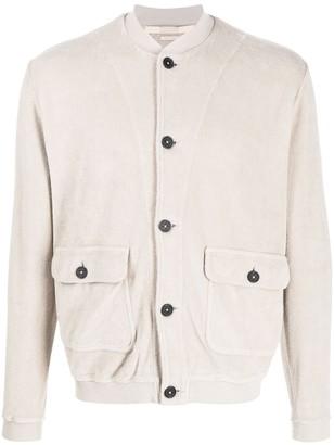 Massimo Alba Fleece Buttoned Cardigan
