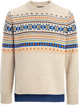 Fair Isle Knit Sweater