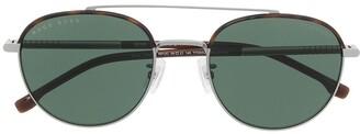 HUGO BOSS Aviator-Frame Sunglasses