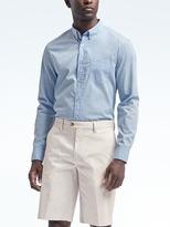 Banana Republic Camden Standard-Fit Custom-Wash Stripe Shirt