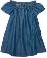 Ralph Lauren 2-6X Off-The-Shoulder Dress