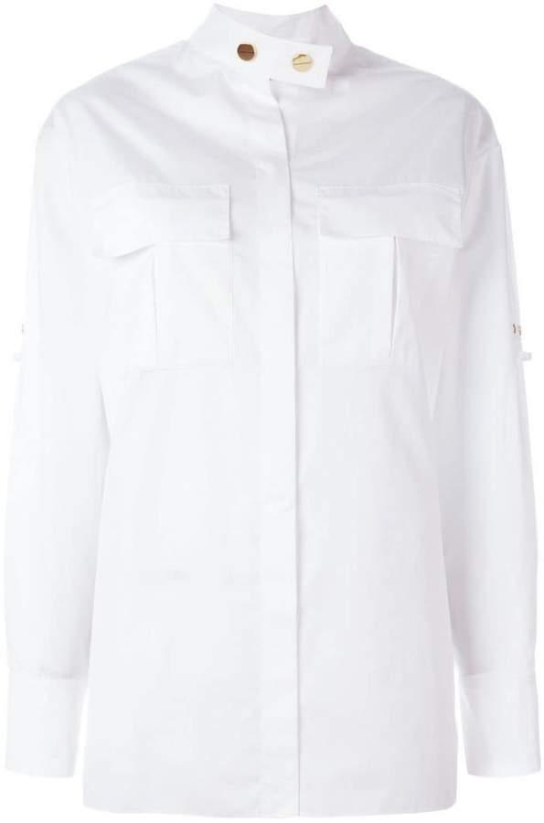 Alexandre Vauthier band collar shirt