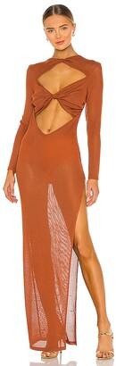 Bronx and Banco Daphne Maxi Knit Dress