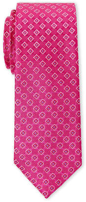 Ted Baker Pink Square Silk Tie