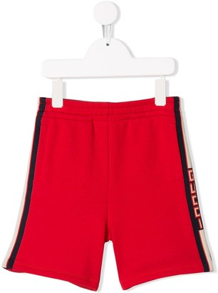 Gucci Kids Stripe Casual Shorts