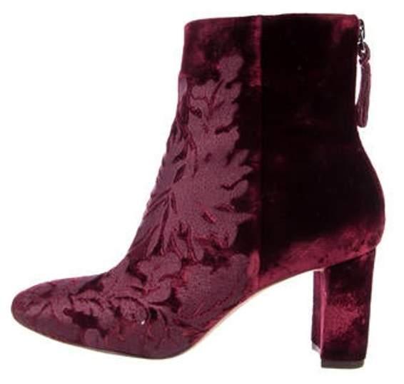 Alexandre Birman Regina Velvet Ankle Boots Regina Velvet Ankle Boots