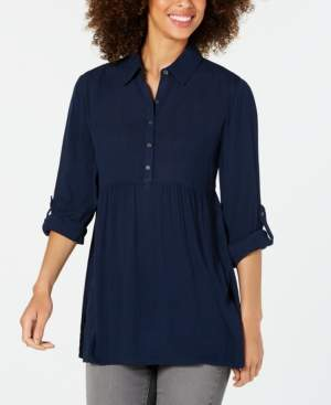 Style&Co. Style & Co Petite Babydoll Tunic Shirt, Created for Macy's