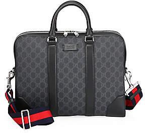 Gucci Men's GG Leather Briefcase