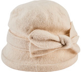 San Diego Hat Company Women's Soft Knit Cloche with Bow CTH8090