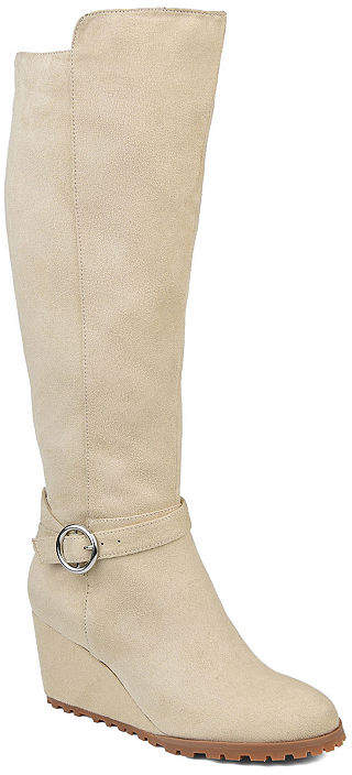 4560f3ceaf02 Journee Collection Wedge Sole Women's Boots - ShopStyle
