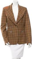 Michael Kors Wool Cashmere-Blend Blazer