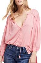 Free People Just a Henley Top